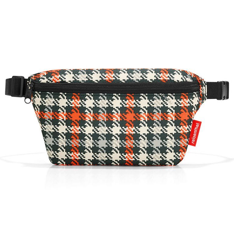 Сумка поясная beltbag S glencheck red