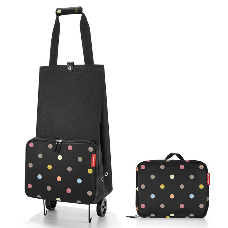 Сумка-тележка на колесиках Foldabletrolley dots