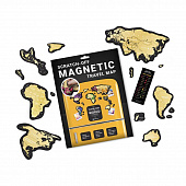 Скретч-карта мира Travel Map Magnetic World