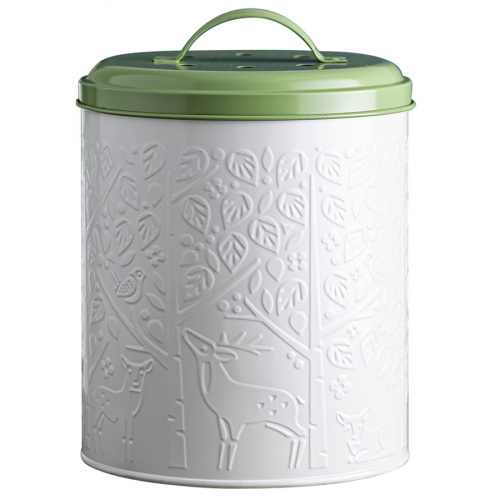 Контейнер для пищевых отходов in the forest белый-зеленый